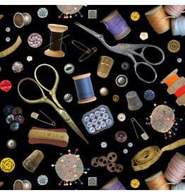 Elizabeth's Studio A Stitch in Time - Sewing Notions Black