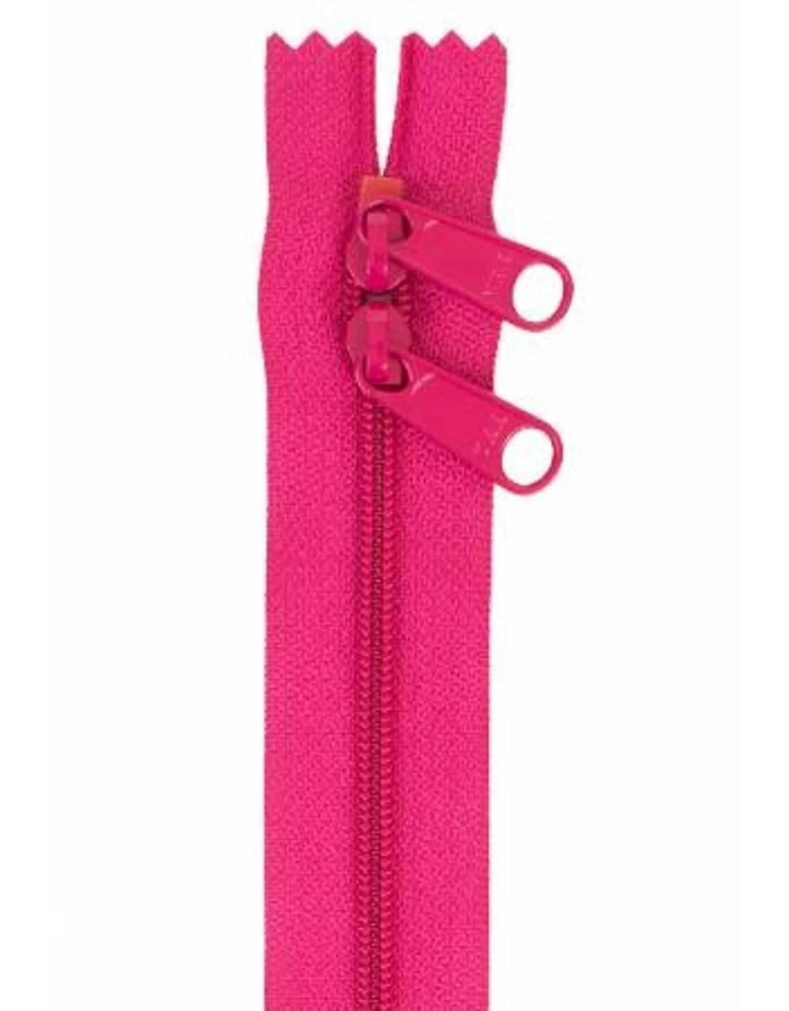 By Annie Handbag Zipper - 40 inch / 101 cm - double slide - Lipstick