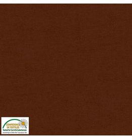 Stof Fabrics Melange - Dark Brown 304