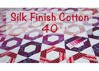 Silk Finish Cotton 40