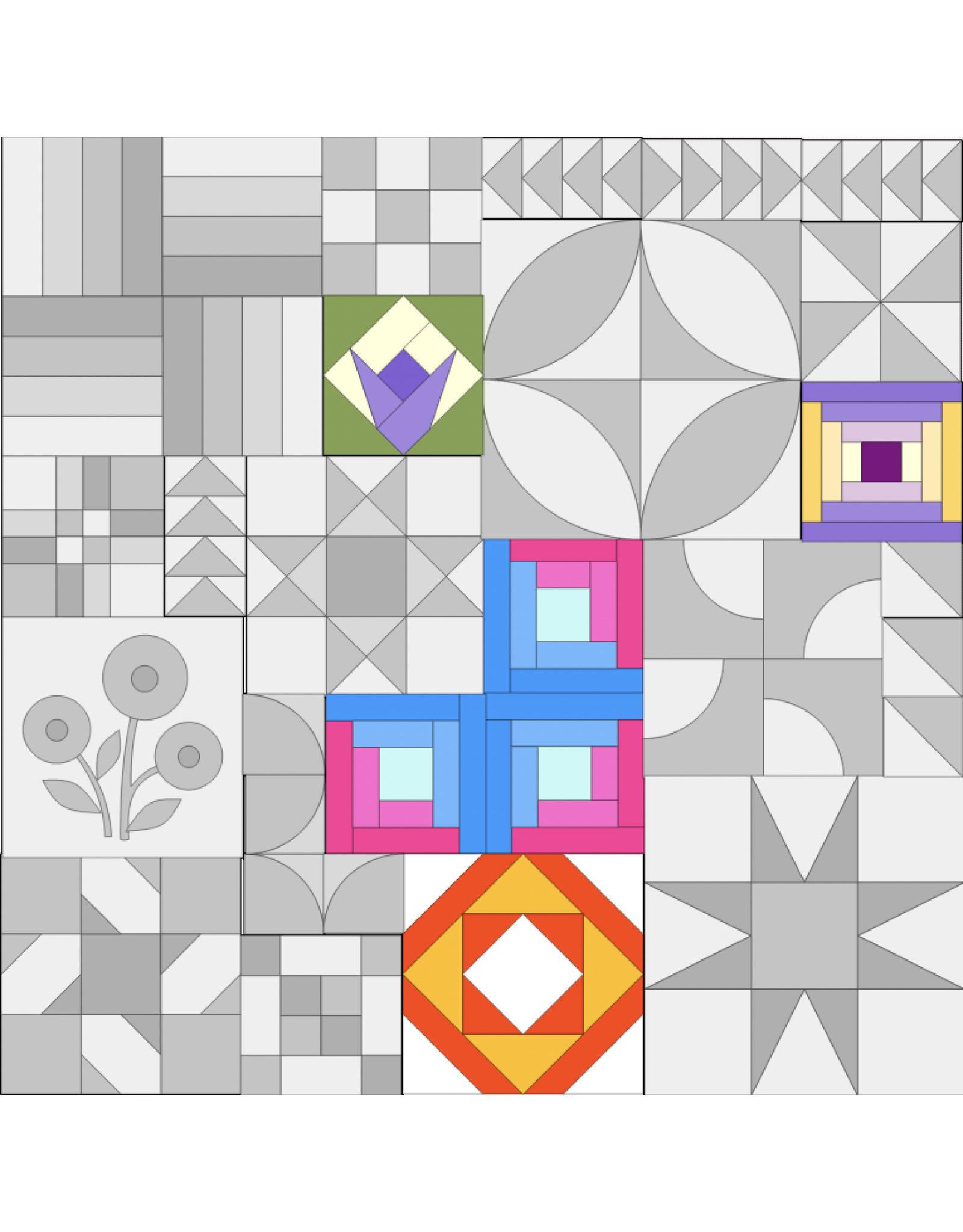 Basiscursus Donderdag - Quilt ABC - Module A