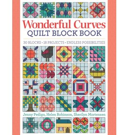 Sew Kind of Wonderful Wonderful Curves - Sampler Quilt Block Book