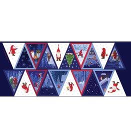 Lewis & Irene Panel - Tomten Kerst Vlaggenlijn