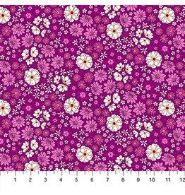 Figo Primavera - Scattered Flowers Pink