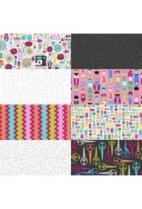 Blank Quilting Handmade with Love - Fat Quarter pakket