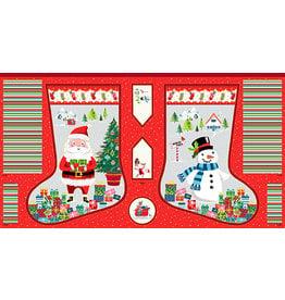 Makower UK Santa Express - Large Stocking Panel