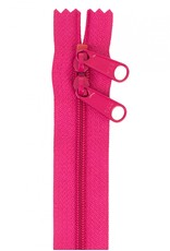 By Annie Handbag Zipper - 30 inch / 76 cm - double slide - Lipstick
