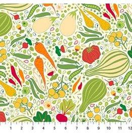 Figo Grow - Vegetables Beige Multi