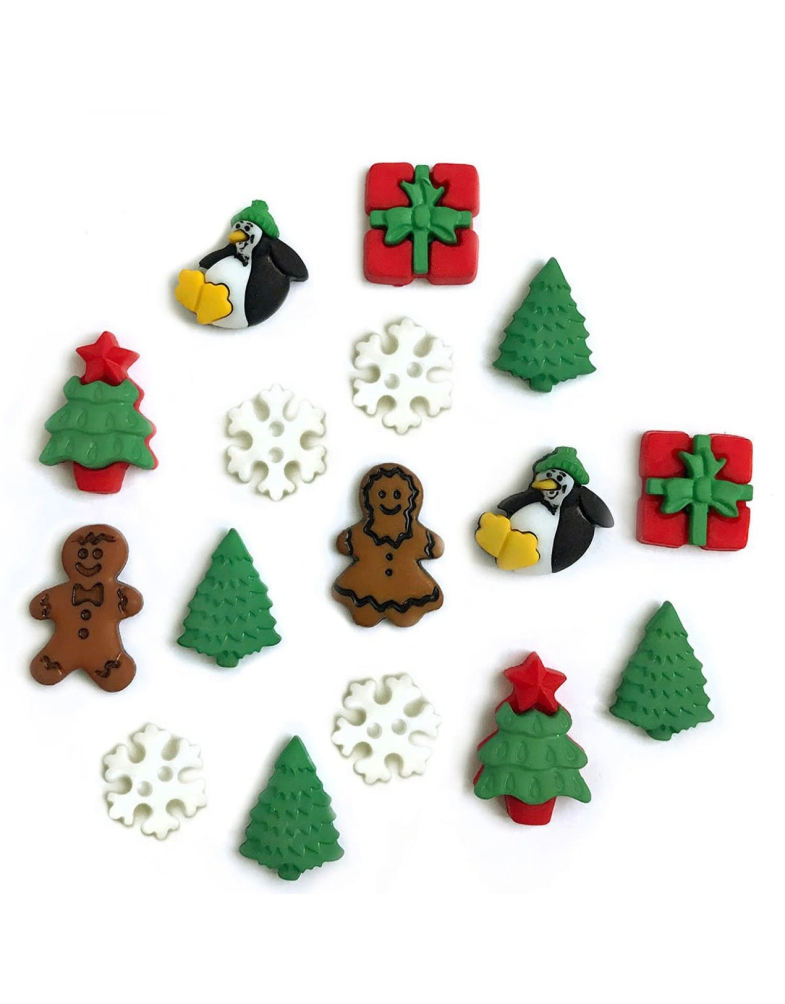 Buttons Galore Christmas Minis - Buttons