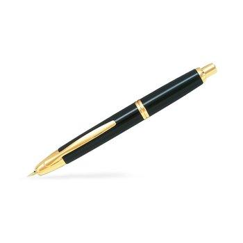 PILOT CAPLESS Finitions dorées - noir plume moyenne