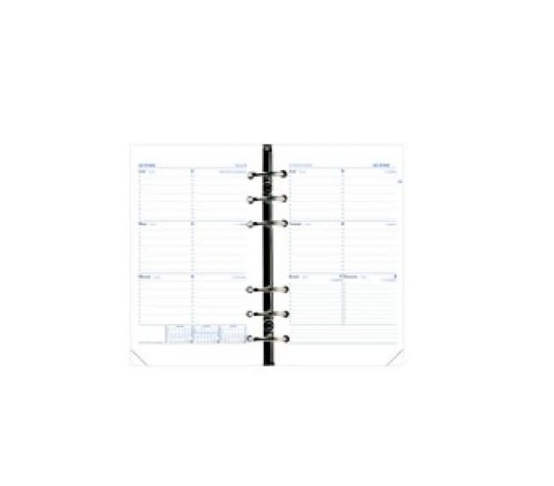 QUO VADIS Recharge d'agenda Timer 21 Horizontal 15x21cm