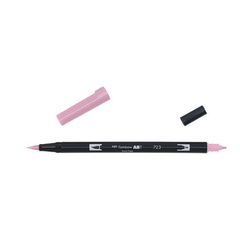 TOMBOW ABT-723 Feutres pinceaux Dual Brush Pen, rose