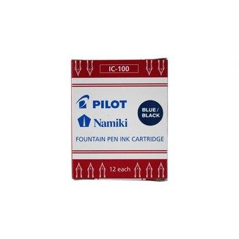 PILOT IC-100 Boîte de 12 cartouches - Bleu nuit