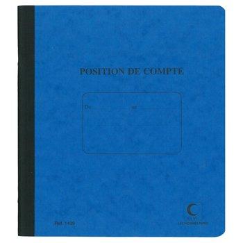 ELVE Position de compte 21 x 19 cm - 80 pages