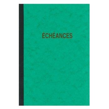ELVE Piqure échéancier -  Format A4 - 96 pages