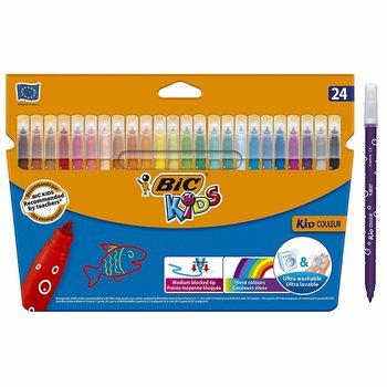 BIC KIDS kid COULEUR Pointe moyenne bloquée - 24  couleurs