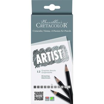 CRETACOLOR Studio Artist 12 Crayons graphite