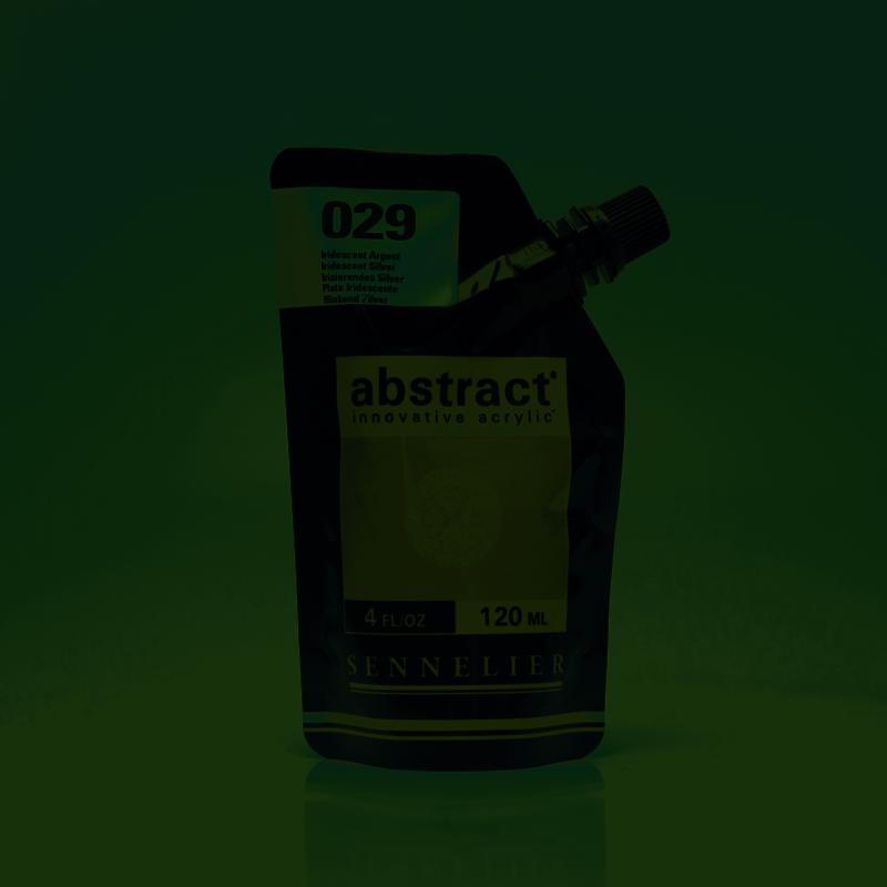 SENNELIER ABSTRACT Acrylique fine 120ml Iridescent Argent