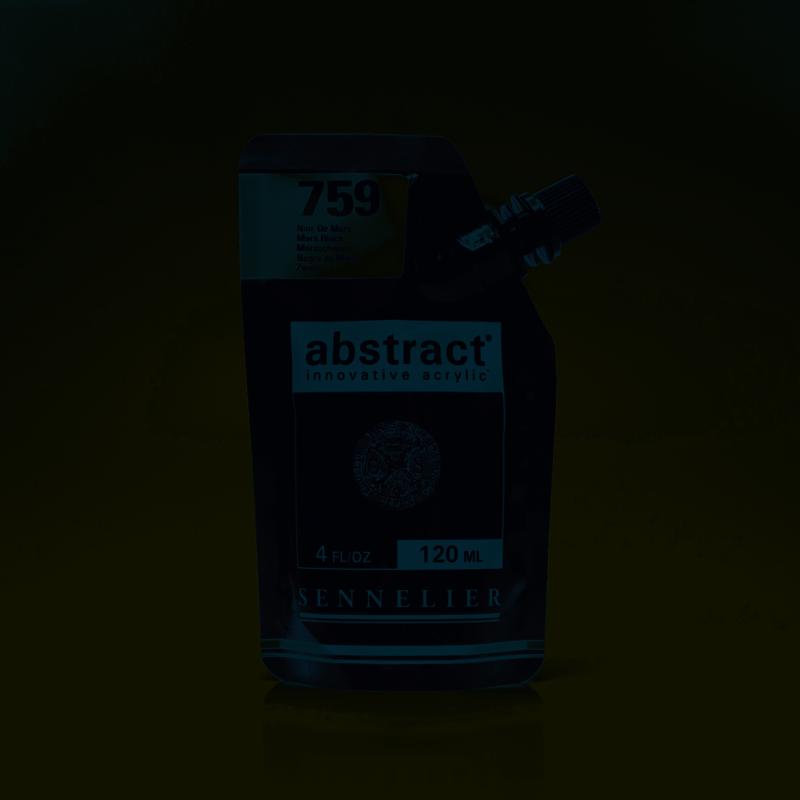 SENNELIER ABSTRACT Acrylique fine 120ml Noir de Mars