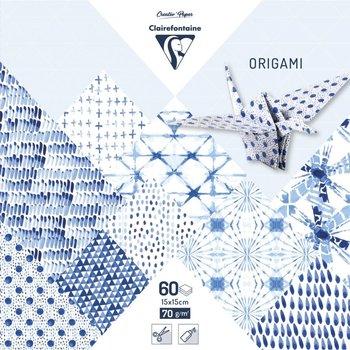 CLAIREFONTAINE Origami Pochette 60 feuilles 15x15cm - Shibori