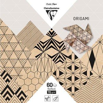 CLAIREFONTAINE Origami Pochette 60 feuilles 15x15cm - Krafty