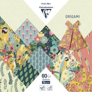 CLAIREFONTAINE Origami Pochette 60 feuilles 15x15cm - Kiribati