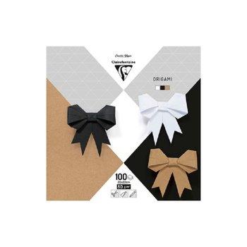 CLAIREFONTAINE Origami Pochette 100 feuilles 20x20cm - Assortiment neutre