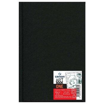 CANSON Liv  98Fl One Sketch Book Canson® Noir 14X21.6 100G