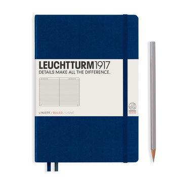 LEUCHTTURM Carnet Bleu Marine, Medium, 251 p., ligné