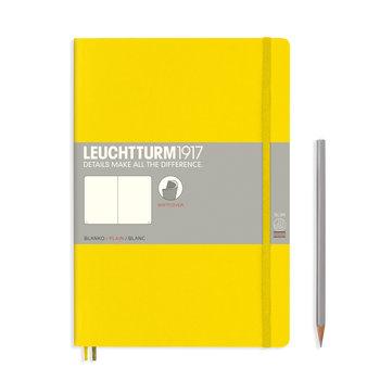 LEUCHTTURM Citron, Couverture souple, Composition (B5), 123 p., blanc