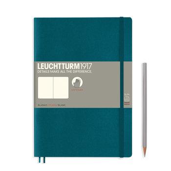 LEUCHTTURM Pacific Green, Couverture souple, Composition (B5), 123 p., blanc