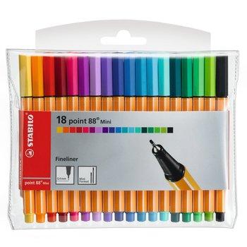 STABILO Pochette x 18 stylos-feutres point 88 Mini