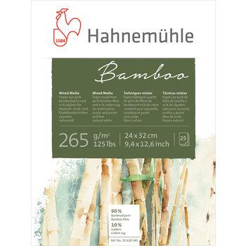 HAHNEMUHLE BAMBOO Bloc 25FL 24x32 265G
