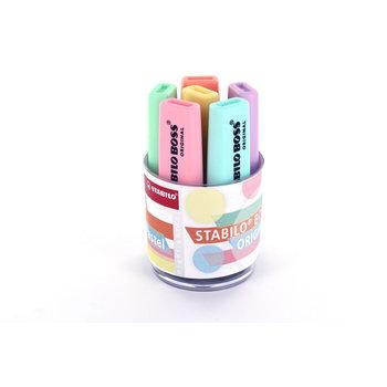 STABILO Pot x 6 surligneurs BOSS ORIGINAL Pastel