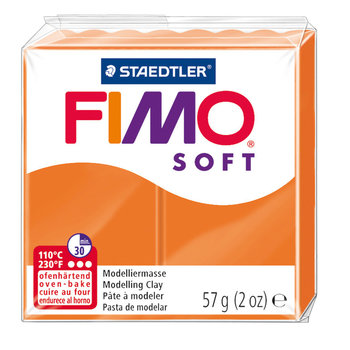 STAEDTLER Fimo Soft 57G Mandarine / 8020-42