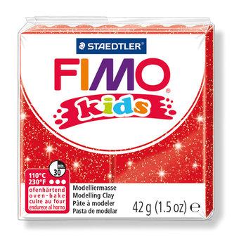 STAEDTLER Fimo Kids 42G Rouge Paillete/ 8030-212