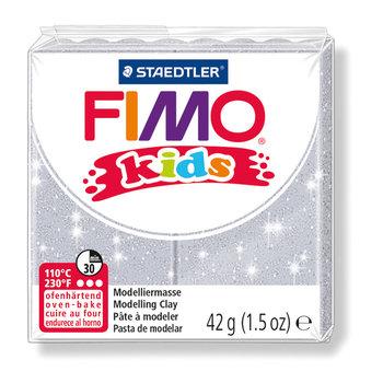 STAEDTLER Fimo Kids 42G Gris Pailleté/ 8030-812