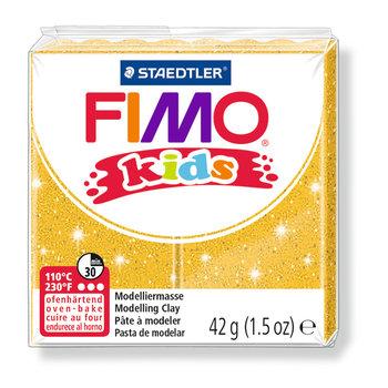 STAEDTLER Fimo Kids 42G Or Pailleté/ 8030-112