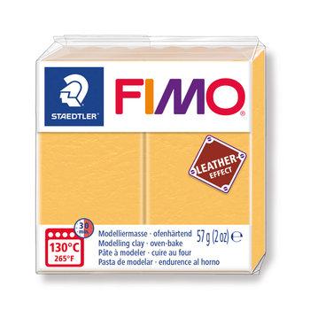 STAEDTLER Fimo Effect Cuir 57G Jaune Safran / 8010-109