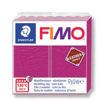 STAEDTLER Fimo Effect Cuir 57G Violet /Fruit Rouge / 8010-229