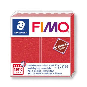 STAEDTLER Fimo Effect Cuir 57G Rouge / Pastèque /8010-249