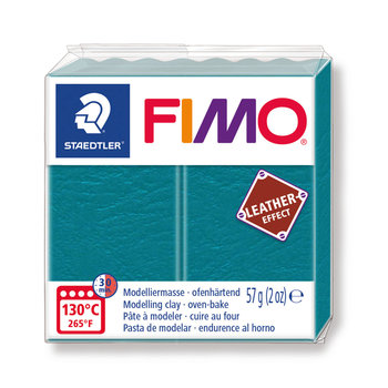 STAEDTLER Fimo Effect Cuir 57G Turquoise /Lagon / 8010-369