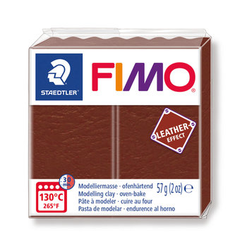 STAEDTLER Fimo Effect Cuir 57G Marron/ 8010-779
