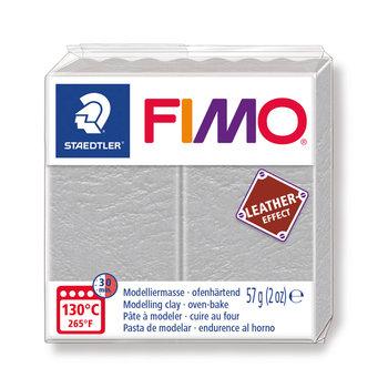 STAEDTLER Fimo Effect Cuir 57G Gris Pâle / Gris Colombe/  8010-809