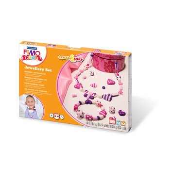 STAEDTLER Kit Fimo Kids Bijoux Cœur / 8033 01