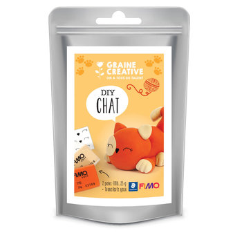 STAEDTLER Sachet Fimo 2X25G - Chat