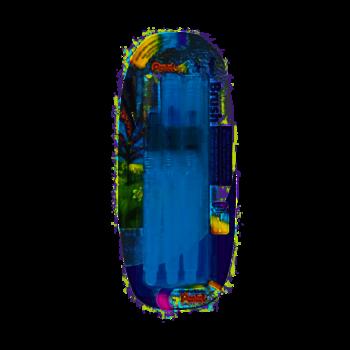 PENTEL Blister de pinceaux à réservoir à d'eau x 3 :  FRH-F, FRH-M, FRH-B