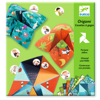 DJECO Origami Cocottes à gages - Animaux
