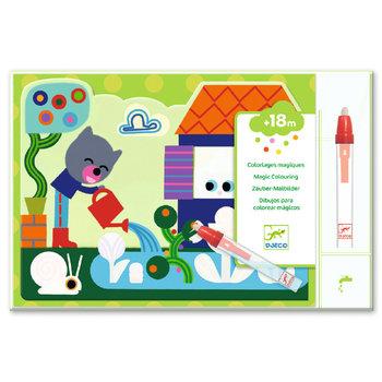 DJECO Coloriages pour les petits Caché dans le jardin