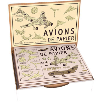 MARC VIDAL Avions de Papier